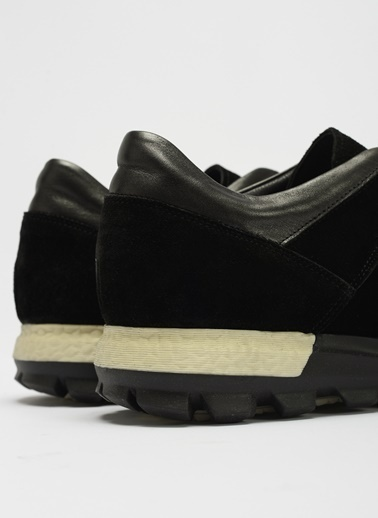 D by Divarese Deri Sneakers Siyah